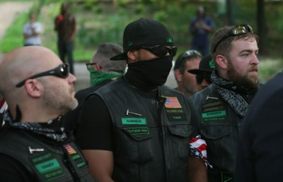 Hallowed Sons Fascist Biker Gang